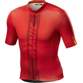Mavic Cosmic Bike Jersey Shortsleeve Men red